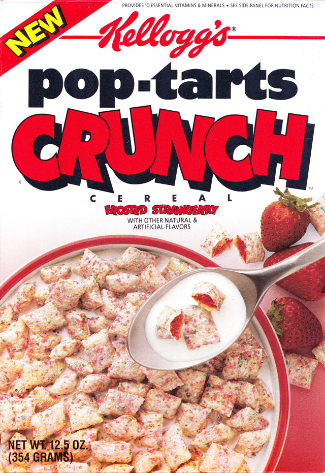 Frosted Strawberry Pop-Tarts Crunch