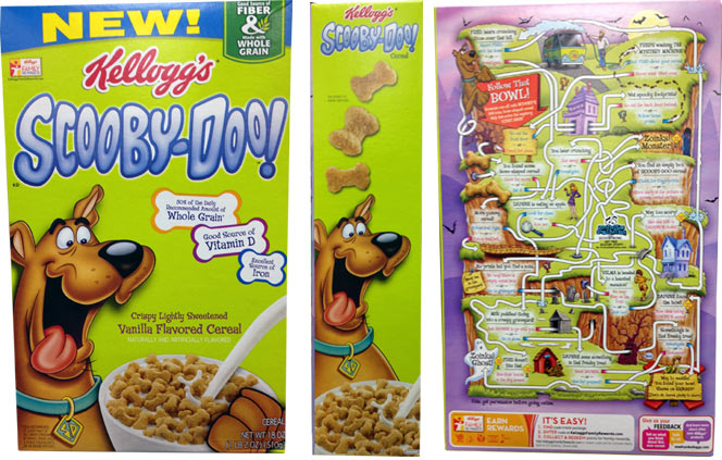Scooby-Doo Cereal 2013