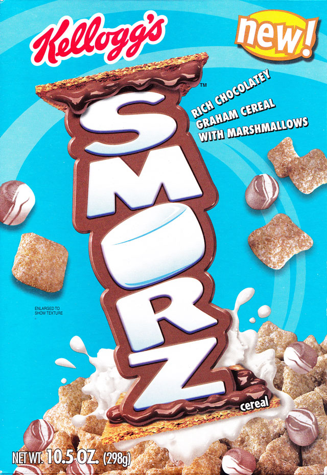 Smorz Cereal Box (Front)