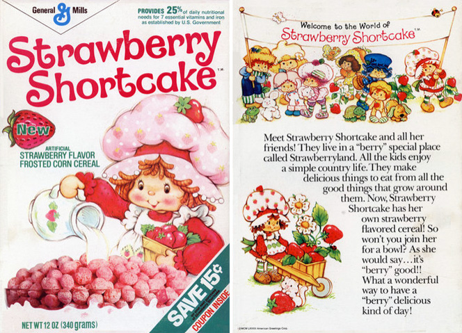 Strawberry Shortcake Cereal Profile