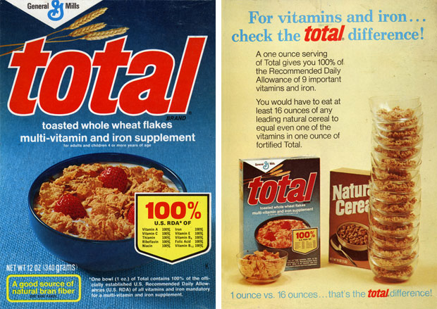 Classic Total Cereal Box
