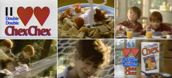 Double Chex Cereal Commercial