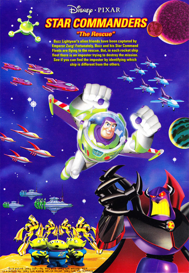 Buzz Blasts Cereal Box (Back)