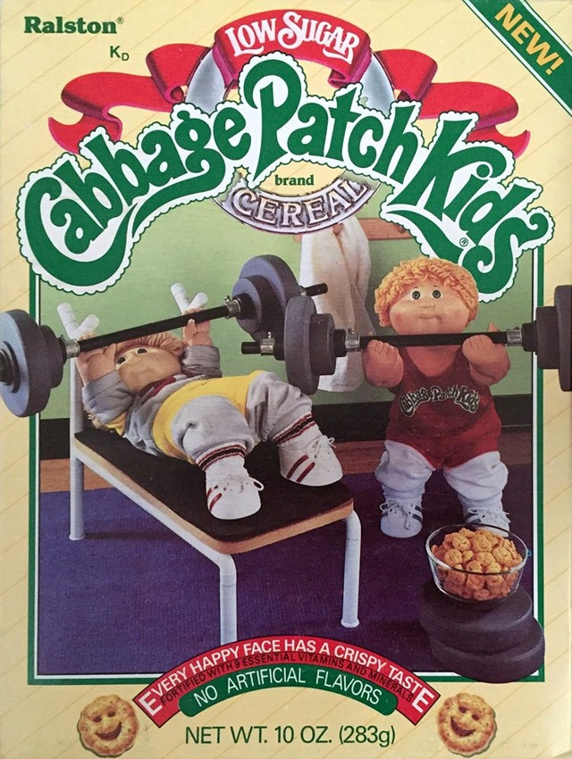 Cabbage Patch Kids Cereal From 1985