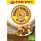 Honey Bunches of Oats with Chocolate Clusters