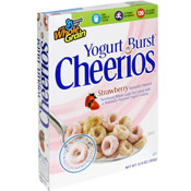 Yogurt Burst Cheerios - Strawberry