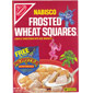 Frosted Wheat Squares