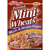 Frosted Mini-Wheats: Maple & Brown Sugar