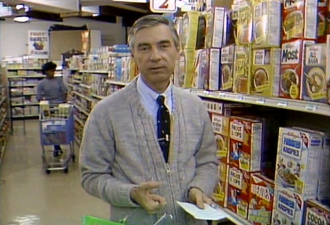 Frosted Krispies Cereal In 1984 with Mr. Rogers