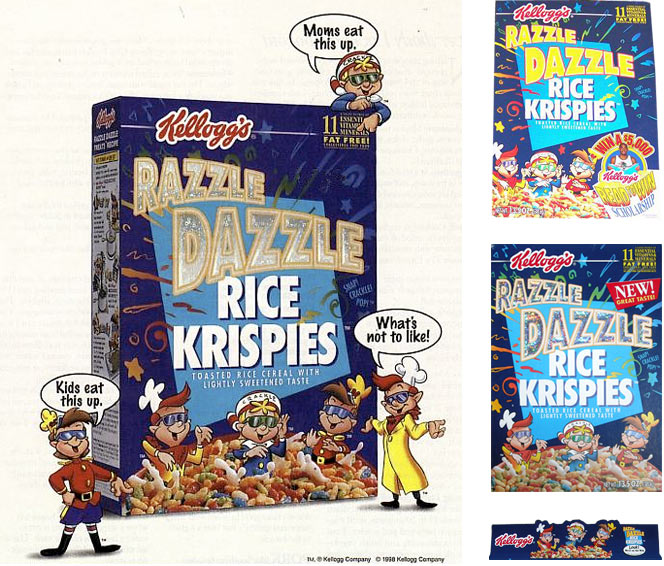 Razzle Dazzle Rice Krispies