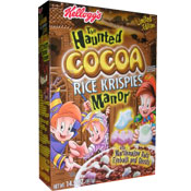 Haunted Cocoa Rice Krispies Manor
