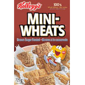 Mini-Wheats: Brown Sugar Frosted