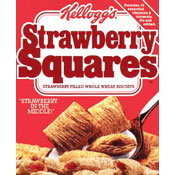 Strawberry Squares Cereal | MrBreakfast.com