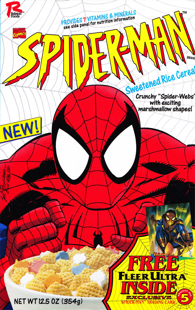 Ralston Spider-Man Cereal Box (Front)