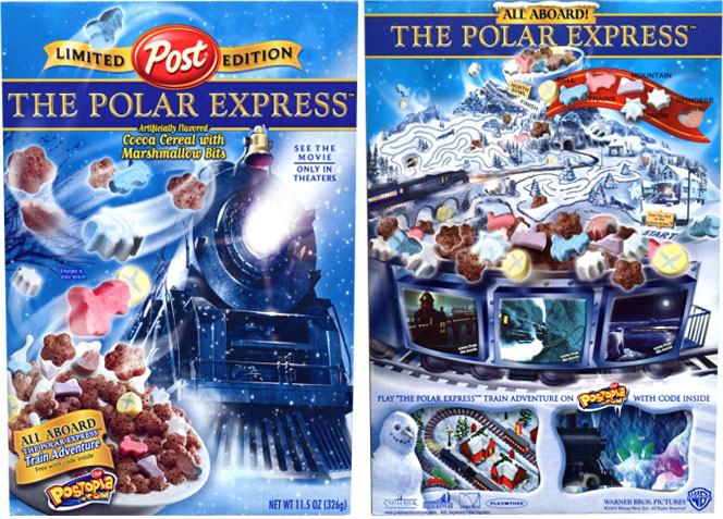 The Polar Express Cereal Profile