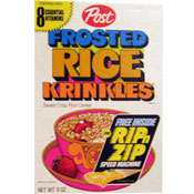Frosted Rice Krinkles