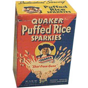 Puffed Rice Sparkies