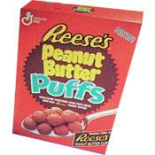 Reese's Peanut Butter Puffs Cereal | MrBreakfast.com