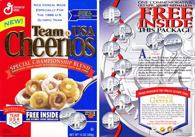 Team USA Cheerios Cereal   MrBreakfast.com
