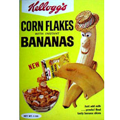 Corn Flakes With Instant Bananas