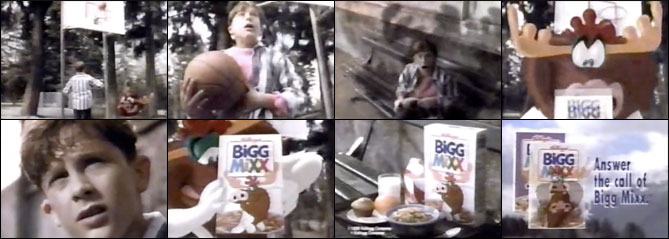 Bigg Mixx Cereal Basketball Commercial