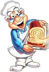 baker this friendly old baker appeared on several french toast crunch    Cinnamon Toast Crunch Baker