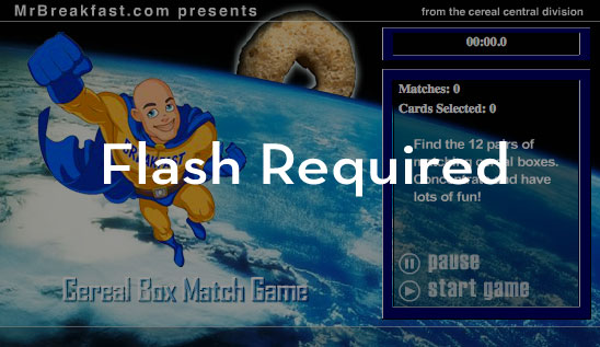 Flash Required To Play This Game