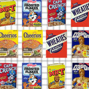 Cereal Box Match Game