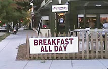 Find a Breakfast Restaurant