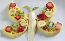 How To Make Waffle Butterflies