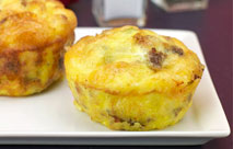 Sausage And Cheese Muffin Frittatas