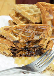 Best Chocolate Chip Waffles