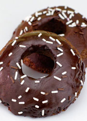 Chocolate Microwave Donuts