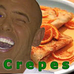 Crepes With Cottage Cheese