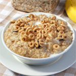 Banana Raisin Microwave Oats