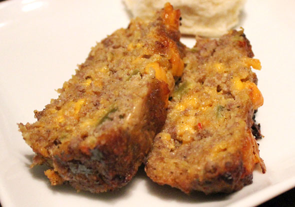Corn Flake Sausage Loaf