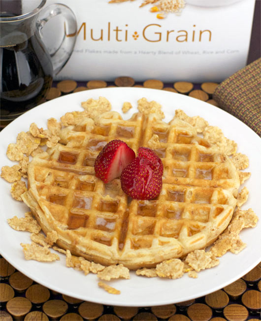 Corn flake waffles recipe mrbreakfast corn flake waffles forumfinder Gallery
