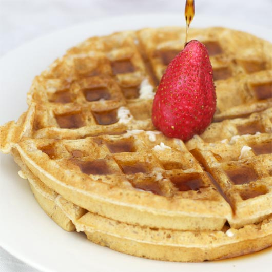 Egg Waffles Recipe — Dishmaps