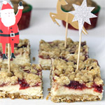 Cranberry Christmas Bars