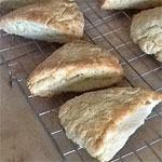 Low-Fat Breakfast Scones