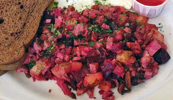 Red Flannel Hash Recipe | MrBreakfast.com