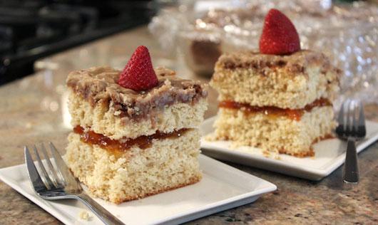 Brown Sugar Coffee Cake Recipe MrBreakfastcom - Brown sugar cake