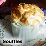 Blueberry Breakfast Souffle