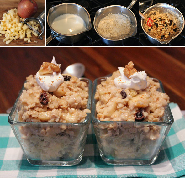 How To Make Maple Walnut Oatmeal