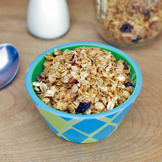 Coconut Granola Recipe | MrBreakfast.com