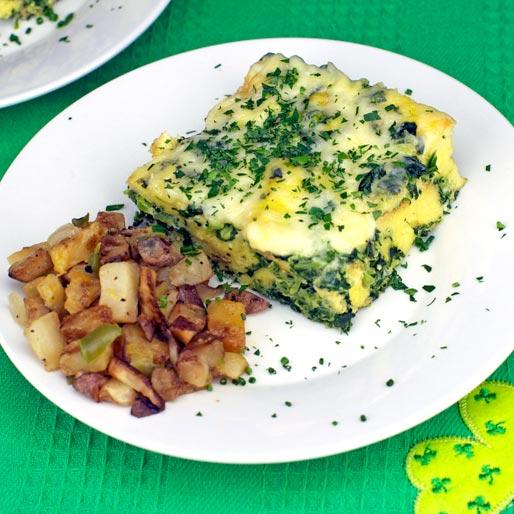 Green Egg Casserole Recipe