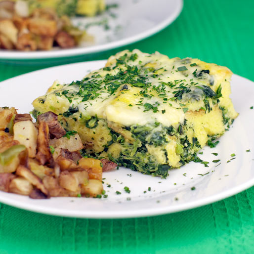 Green Egg Casserole Recipe | MrBreakfast.com