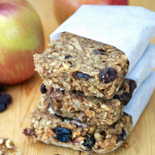 Homemade Apple Bars Recipe