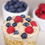 Irish Oatmeal With Seasonal Berries