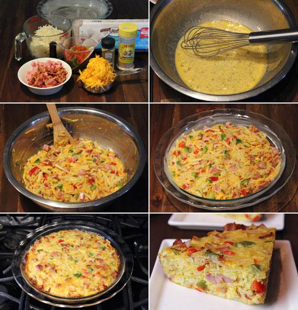 Denver Omelet Pie Recipe